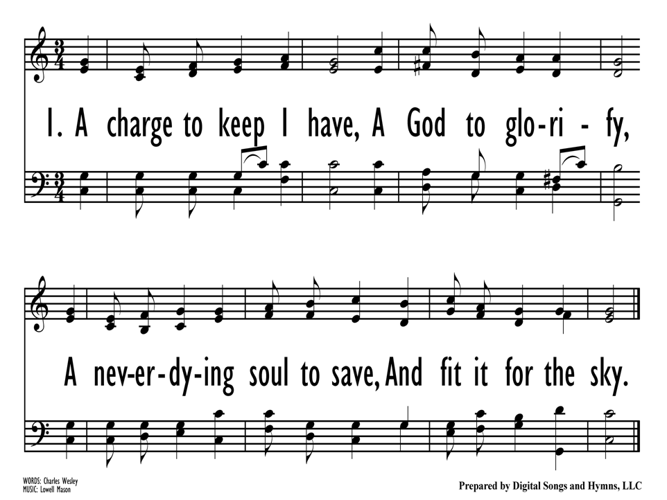 A Charge to Keep I Have | Hymnary org