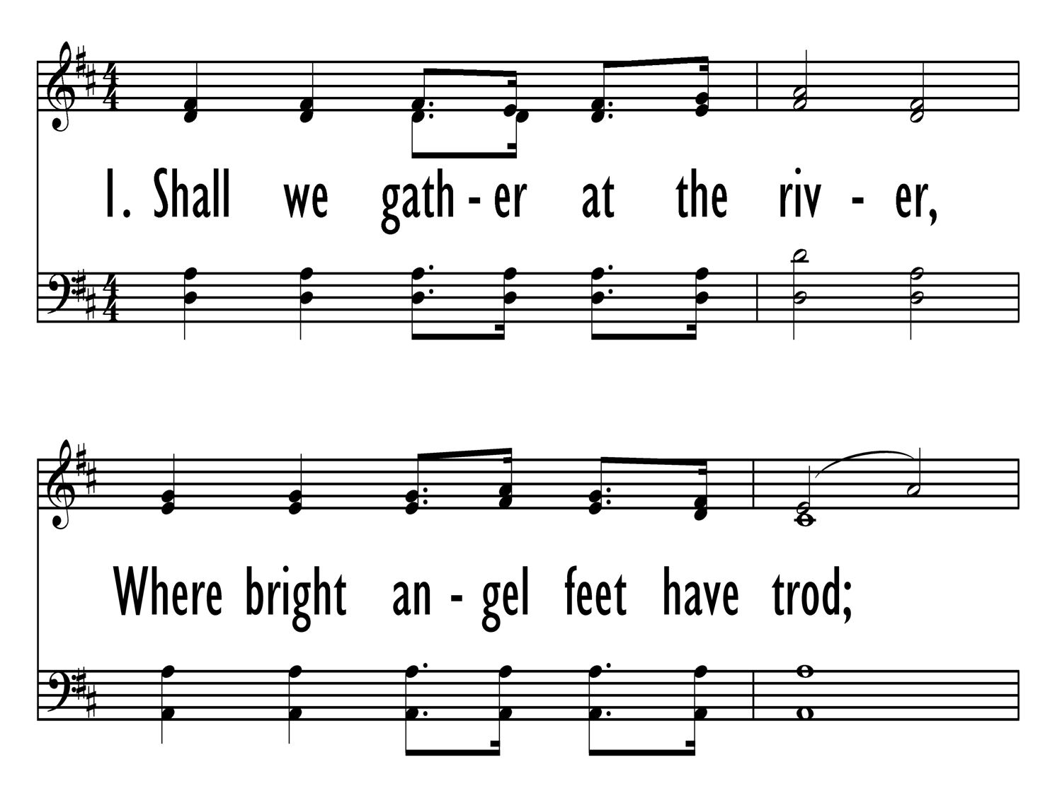 Baptist Hymnal 1991 518  Shall we gather at the river   Hymnary org