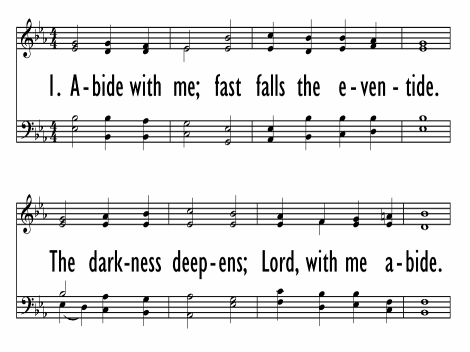 Abide With Me Fast Falls The Eventide Hymnary