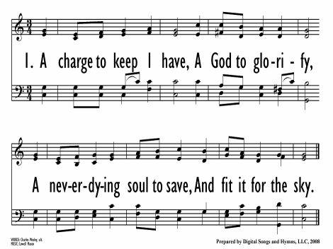 A Charge To Keep I Have Hymnary