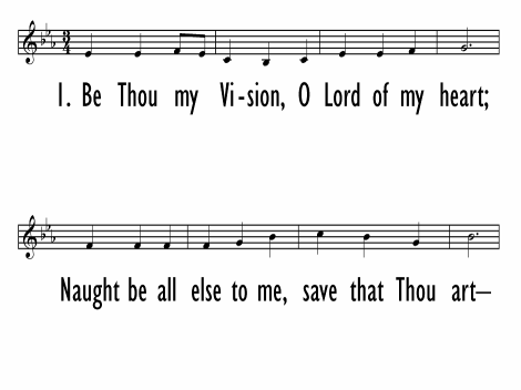 Be Thou My Vision Hymnary