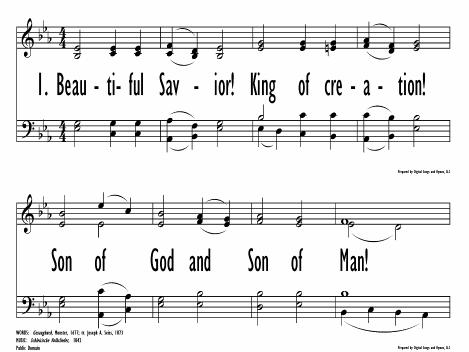 Beautiful Savior Hymnary