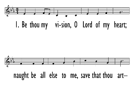 Trinity Hymnal Rev Ed 642 Be Thou My Vision O Lord Of My Heart