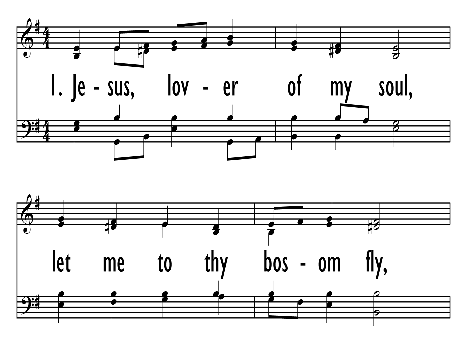 The United Methodist Hymnal 479 Jesus Lover Of My Soul Hymnary