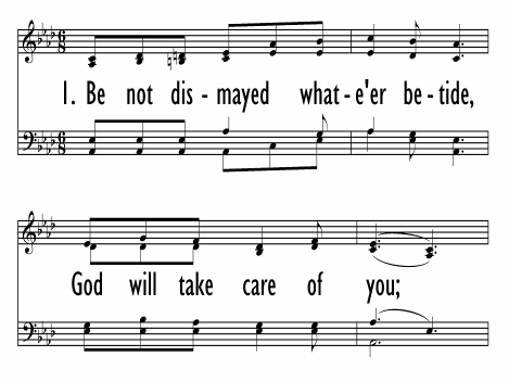God Will Take Care of You   Hymnary org