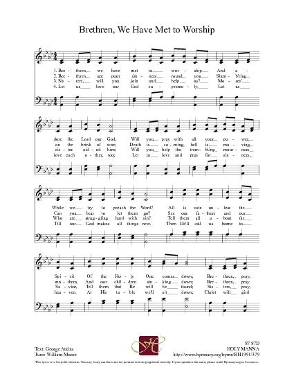 dr. watts hymns lyrics