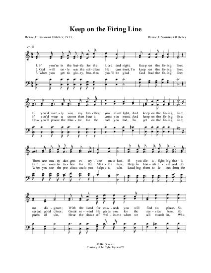 Ralph Stanley – Keep on the Firing Line Lyrics | Genius Lyrics