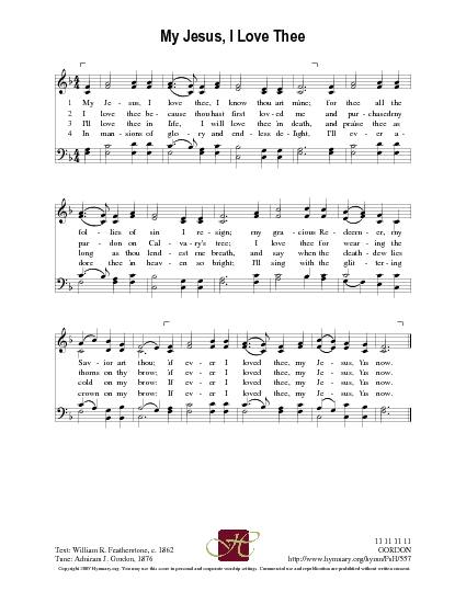 Selah My Jesus I Love Thee