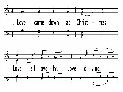 love came down at christmas united methodist hymnal 242