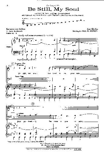 sould dream sheet music pdf