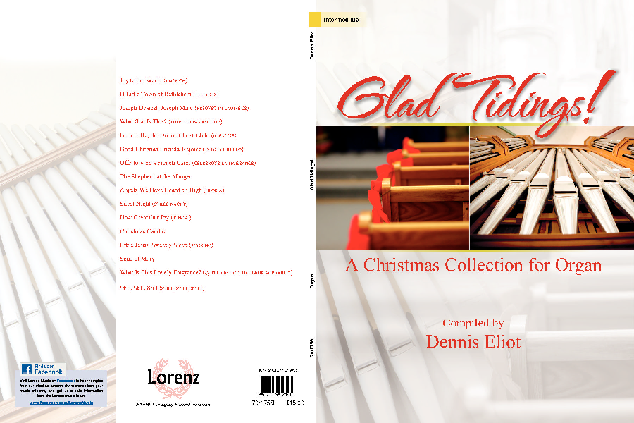 glad tidings   a christmas collection for organ