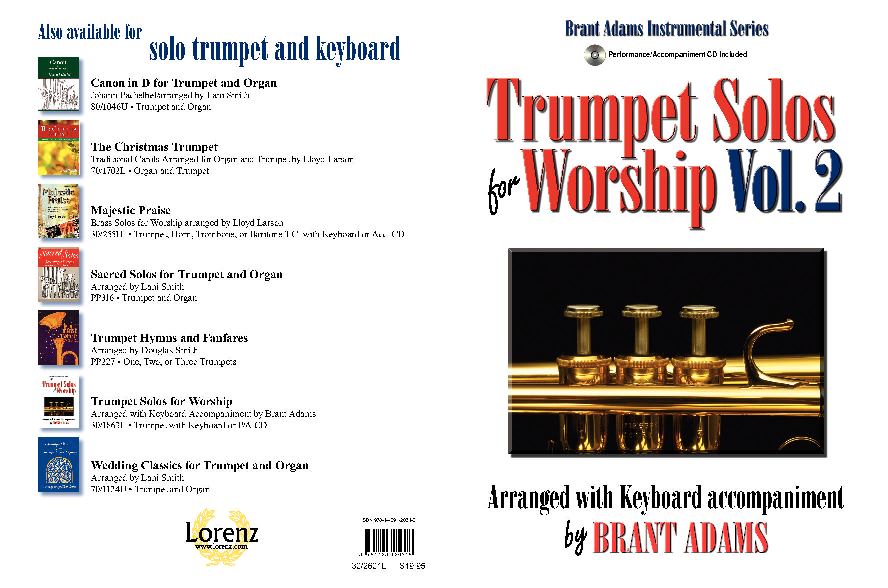 Trumpet Solos for Worship, Vol  2 (Arranged with Keyboard
