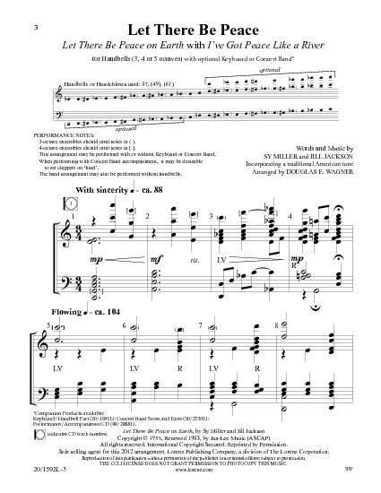 Let There Be Peace On Earth Hymn Let There Be Pe...