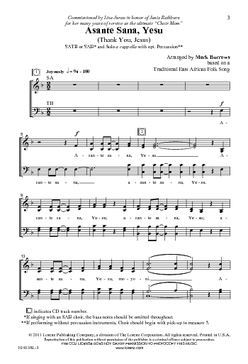 Sheet Music - Because of Your Love. - This exquisite original anthem by Larry Shackley affords singers the opportunity to celebrate the many by-products of GodÕs love.