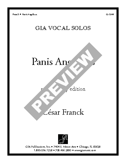 panis angelicus duet sheet music pdf