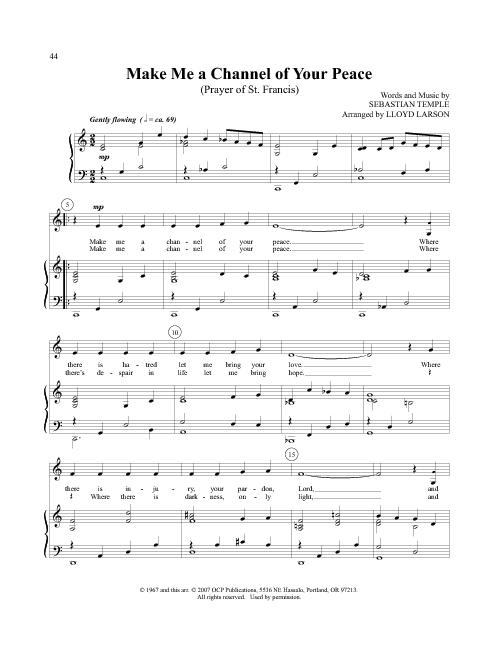 one bread one body piano sheet music pdf