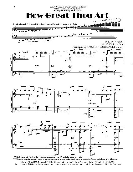 how great thou art piano tutorial