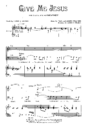 give me jesus chords pdf