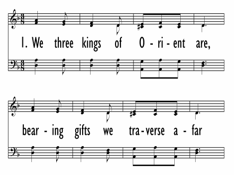 photo about We Three Kings Lyrics Printable named We 3 kings of Orient are