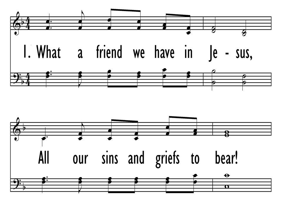What a Friend We Have in Jesus | Hymnary.org