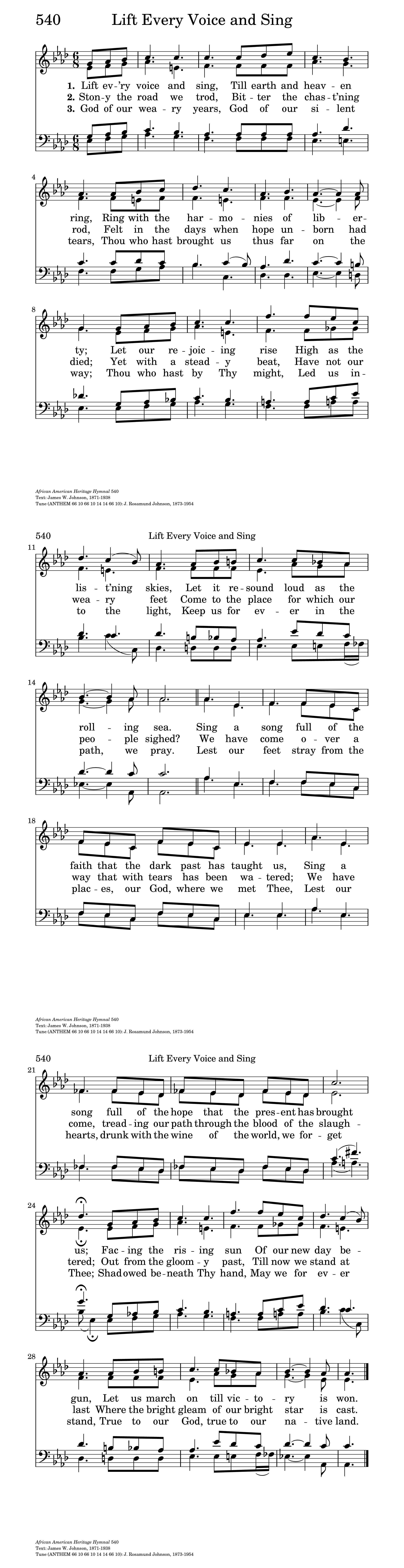 photo relating to National Anthem Lyrics Printable identified as Elevate Every single Voice and Sing