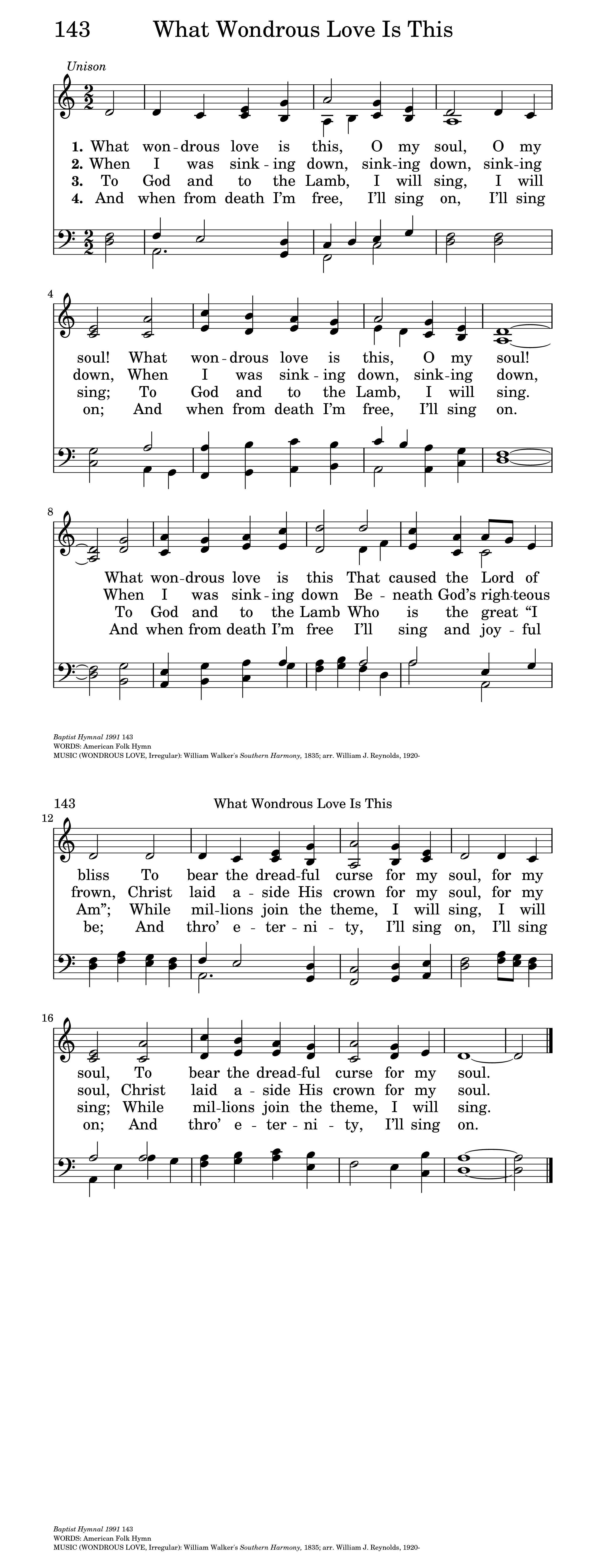 What Wondrous Love Is This | Hymnary org