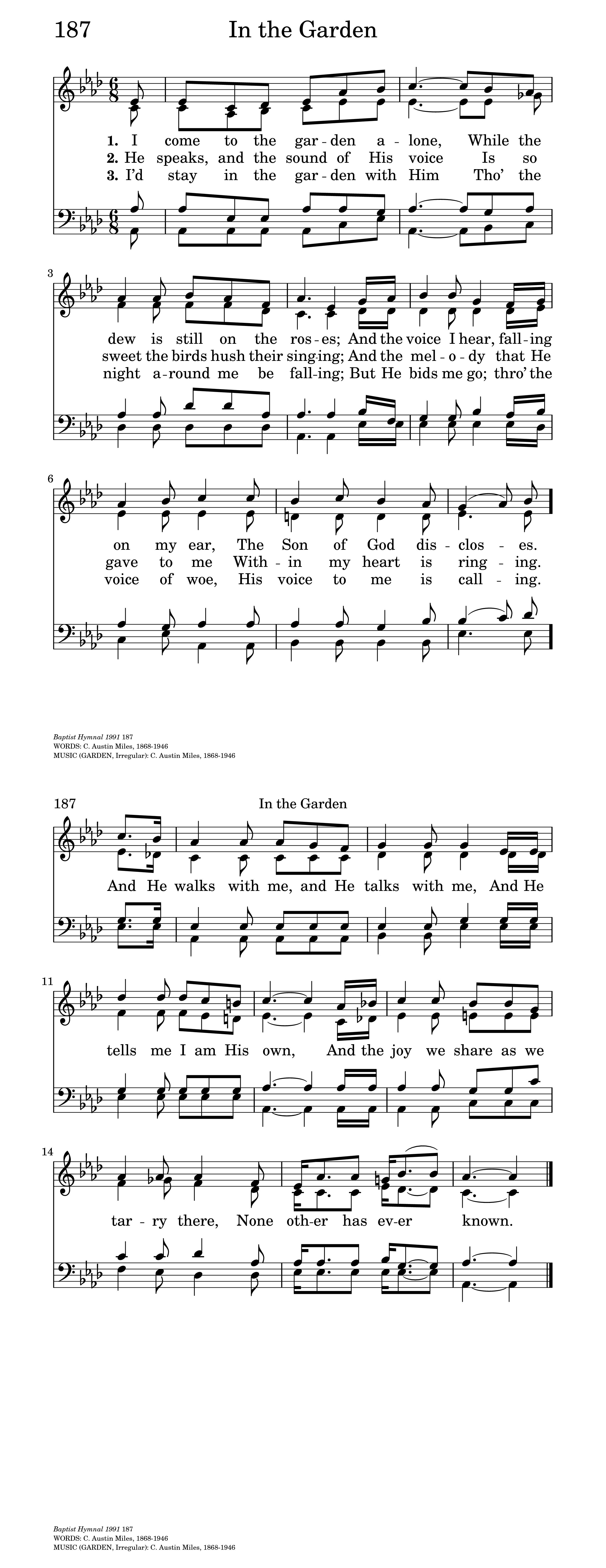 picture about Free Printable Black Gospel Sheet Music named Within just the backyard garden