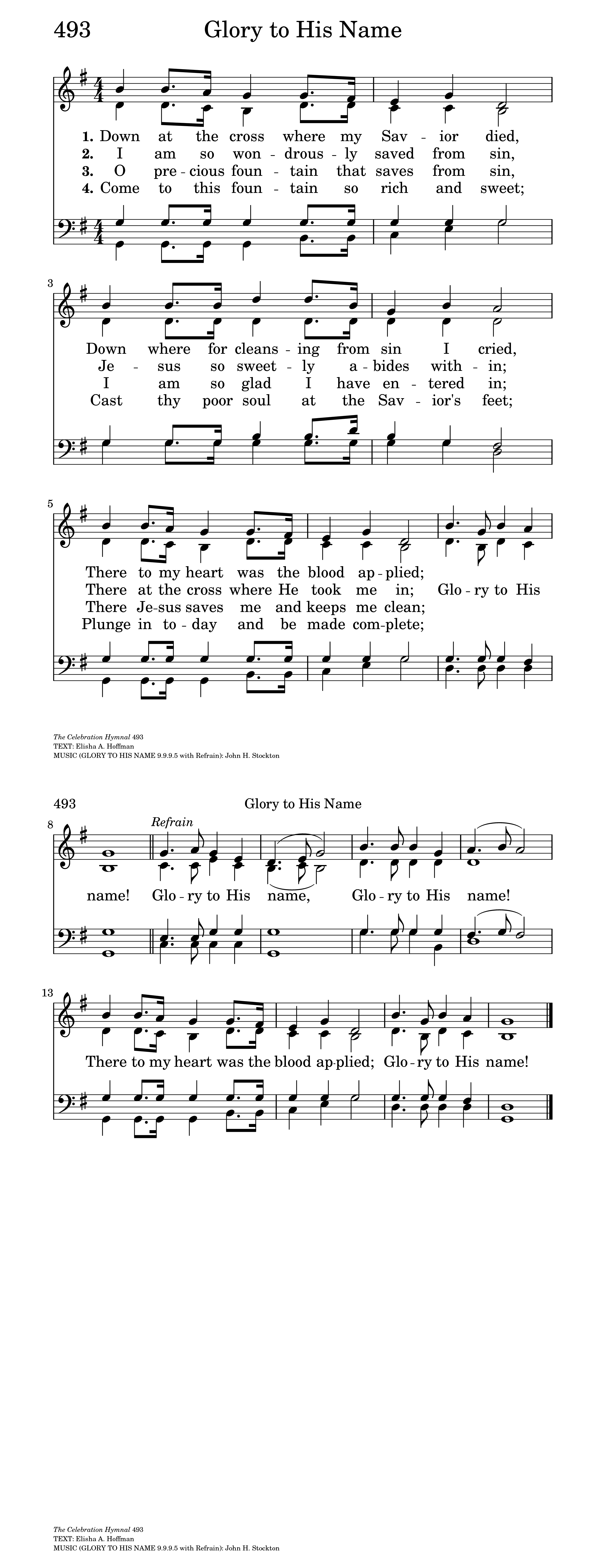 Down at the cross hymnary general settings hexwebz Images
