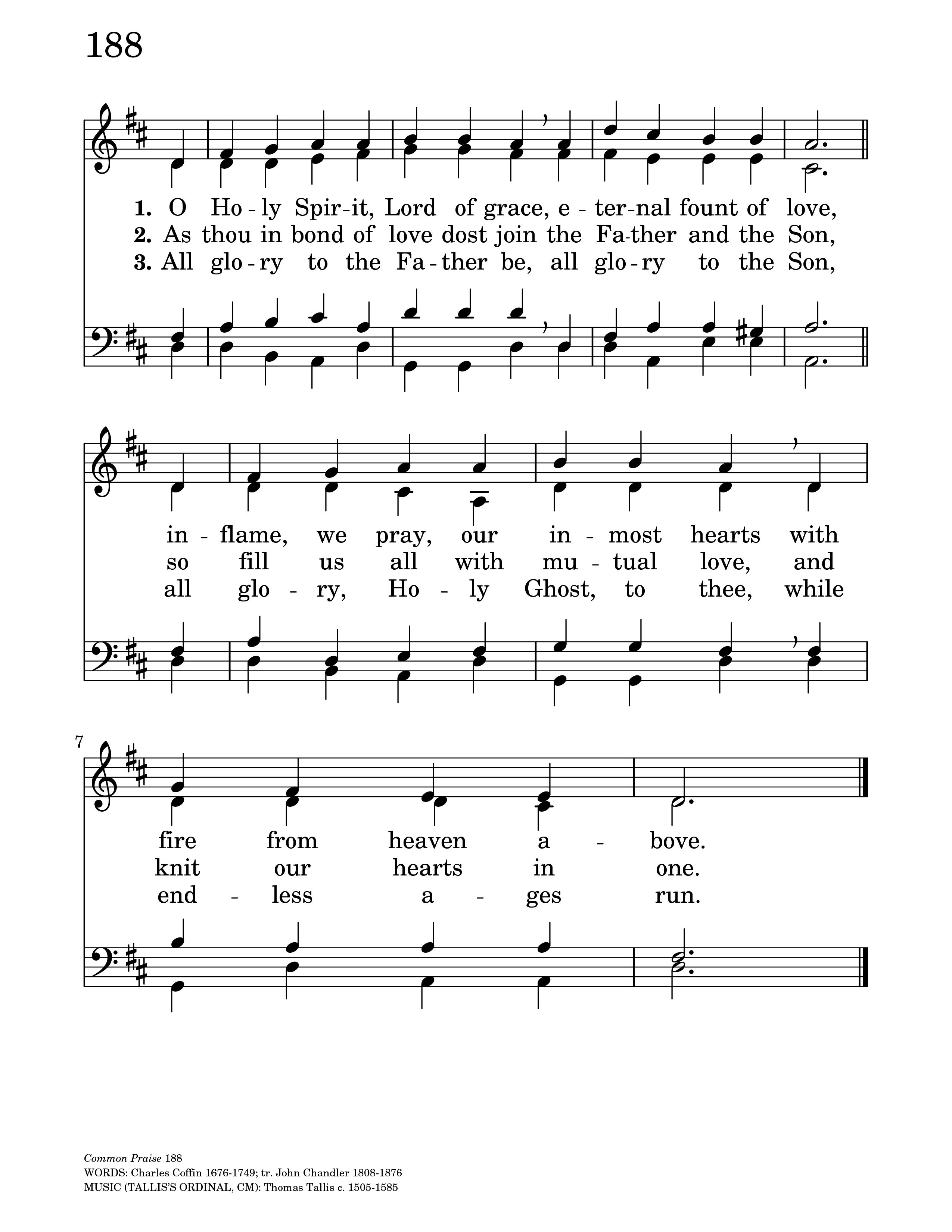 TALLIS' ORDINAL | Hymnary org