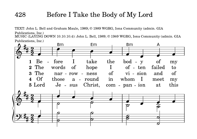 LAYING DOWN | Hymnary org