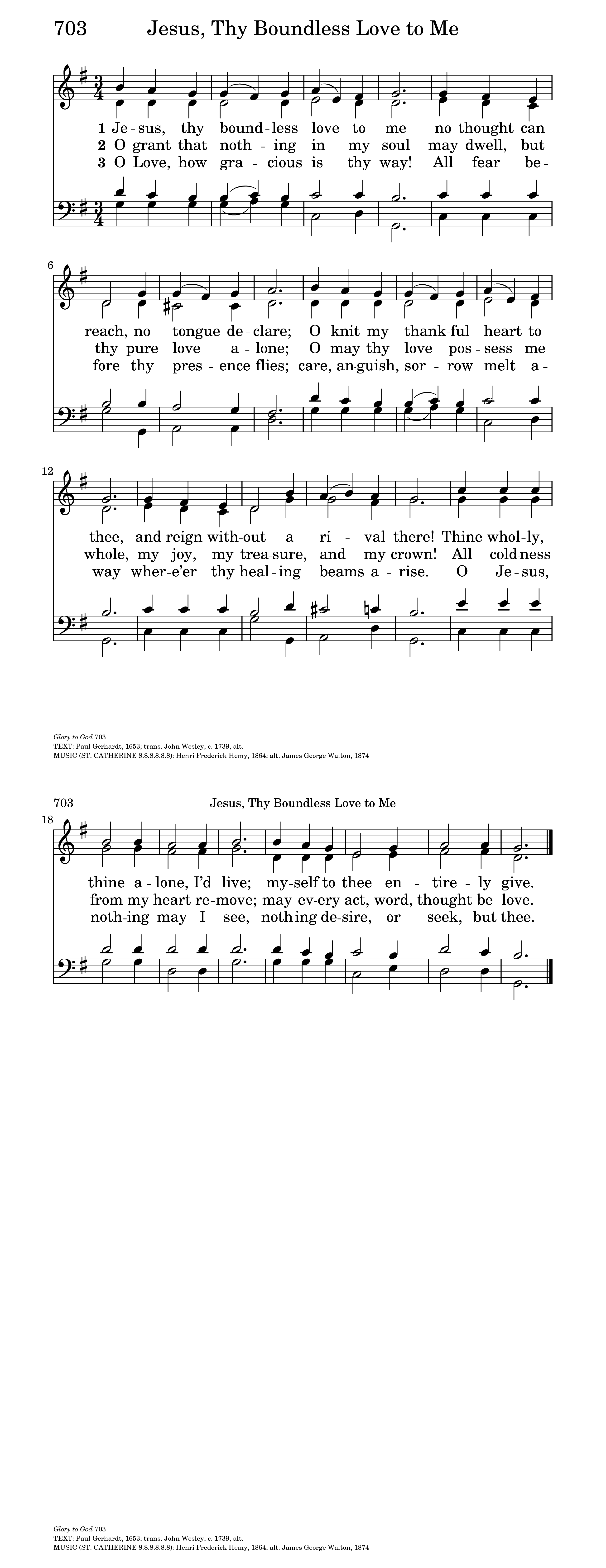 Jesus thy boundless love to me hymnary general settings hexwebz Image collections
