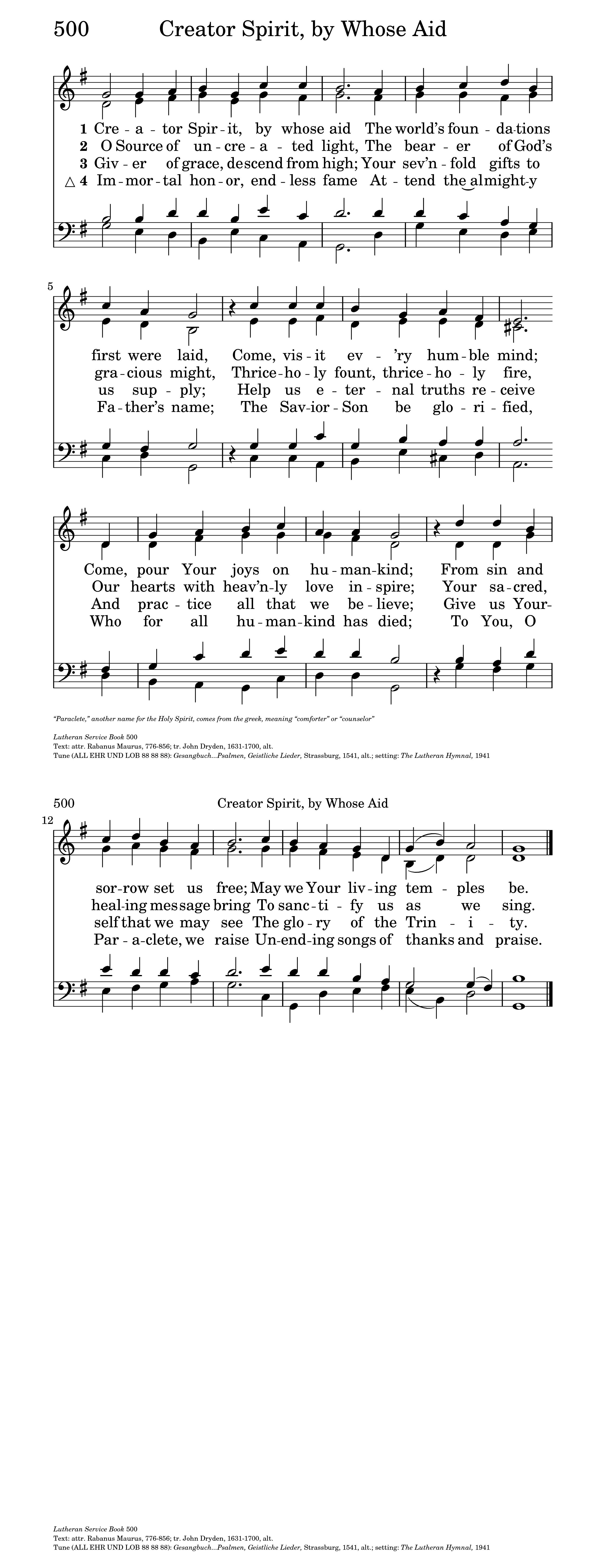 ALL EHR UND LOB | Hymnary org