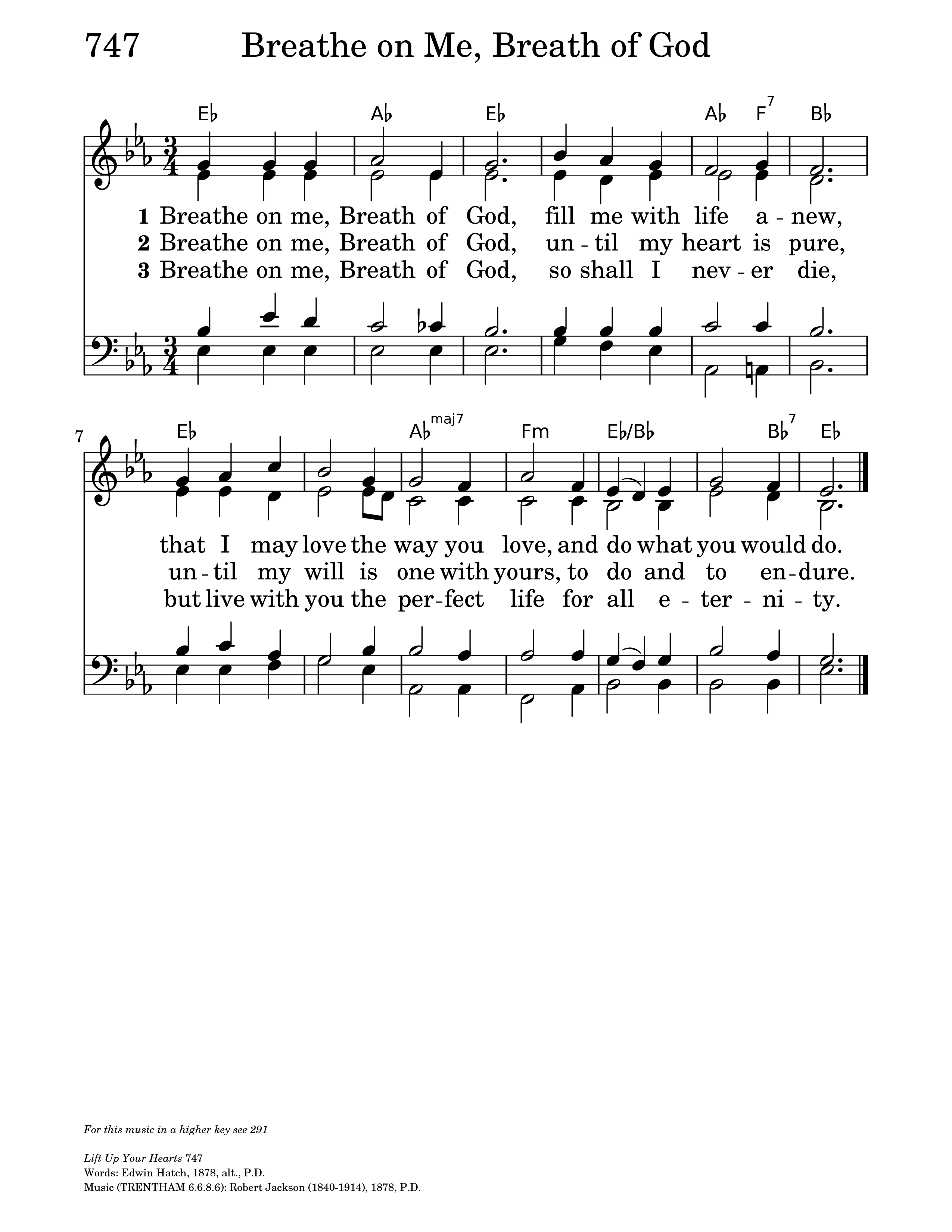 Breathe on Me, Breath of God | Hymnary org