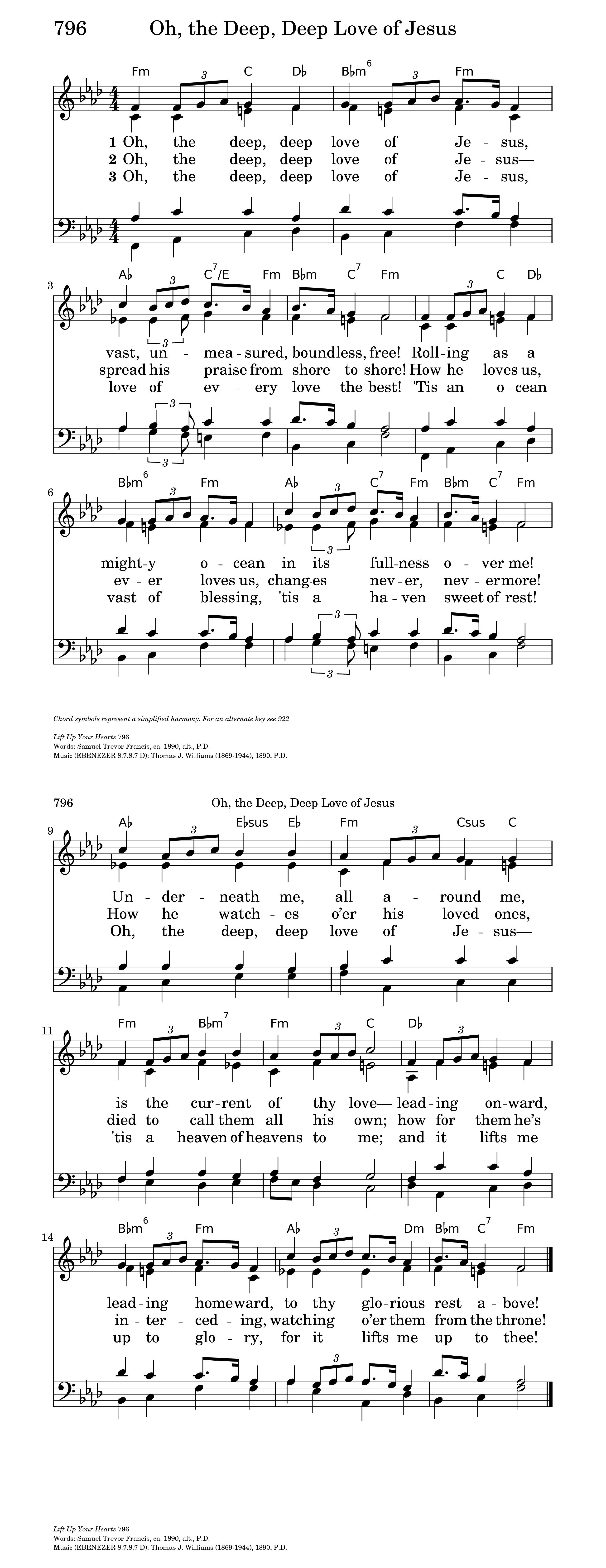 O the Deep, Deep Love of Jesus! | Hymnary org