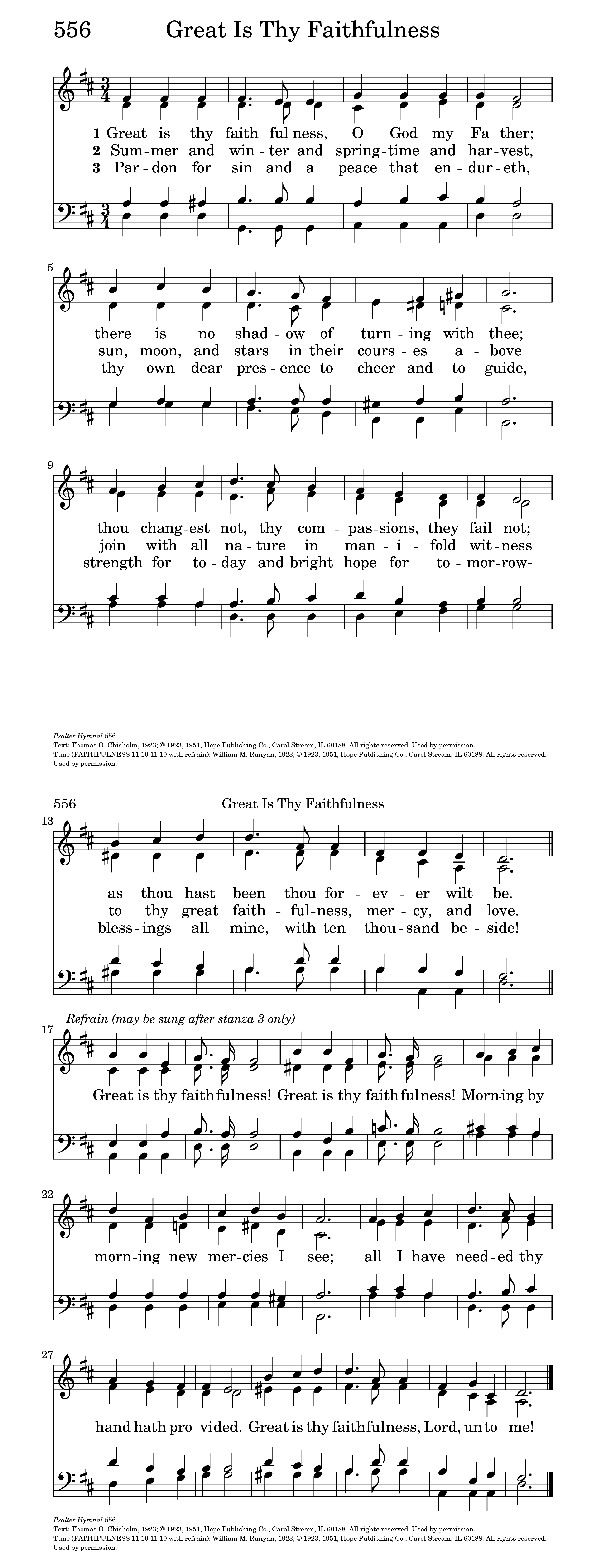 great is thy faithfulness hymnary org