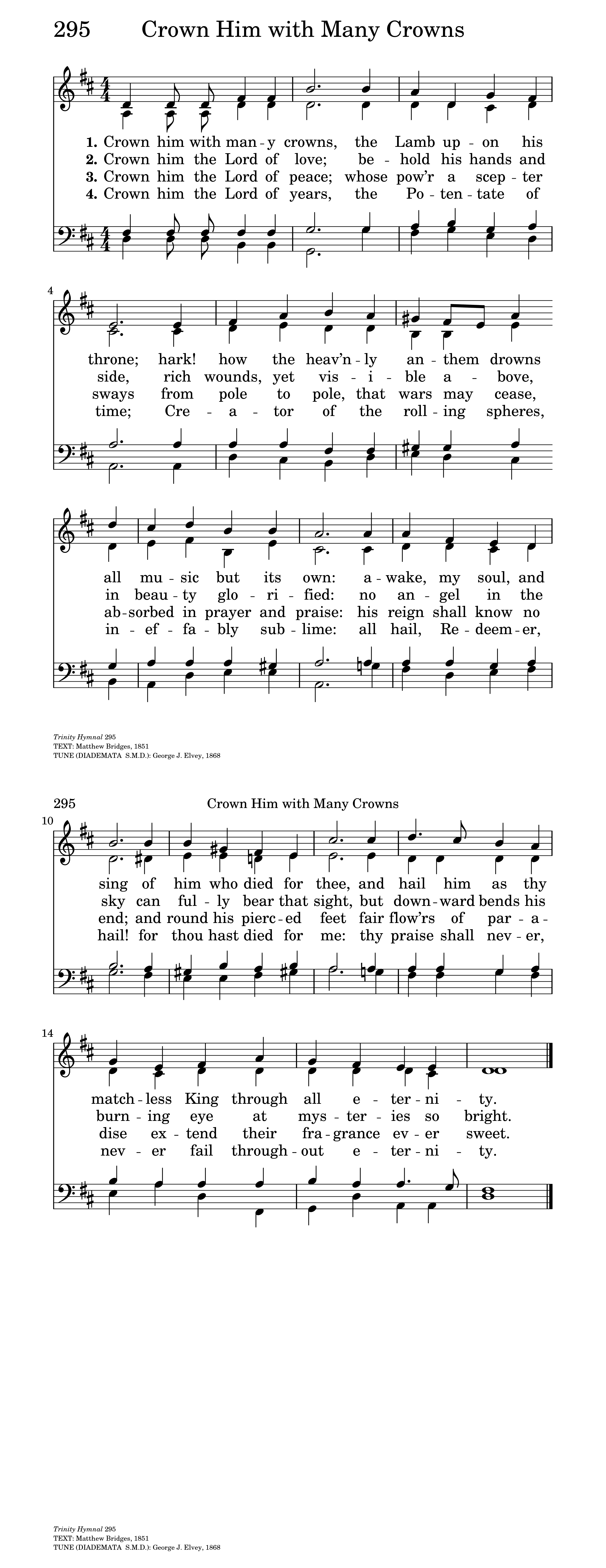 Crown Him With Many Crowns Hymnary