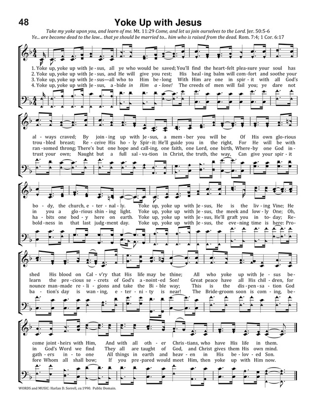 50 Uncommon Songs: for partakers of the common salvation page 54