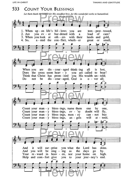 African American Heritage Hymnal page 849