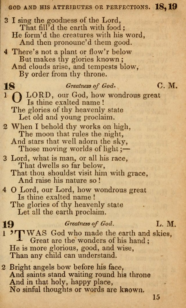 The American Baptist Sabbath-School Hymn-Book page 15