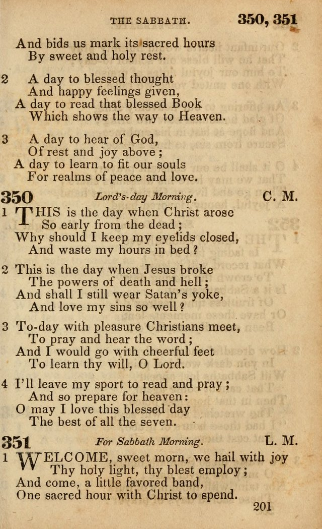 The American Baptist Sabbath-School Hymn-Book page 207