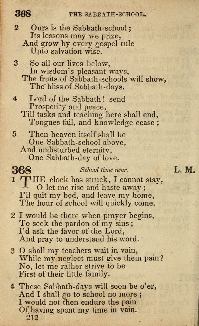 The American Baptist Sabbath-School Hymn-Book page 218