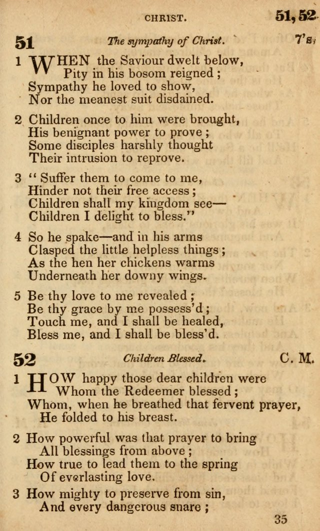 The American Baptist Sabbath-School Hymn-Book page 37