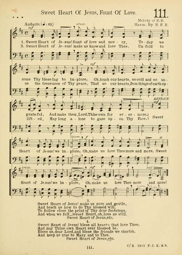 American Catholic Hymnal: an extensive collection of hymns