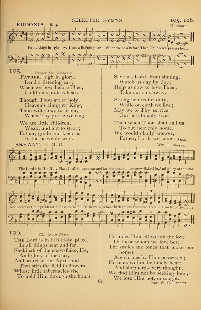 Hymnal Amore Dei page 59