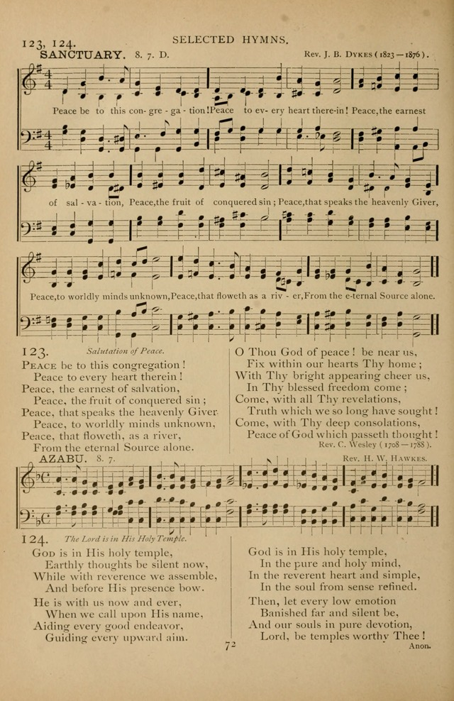 Hymnal Amore Dei page 70