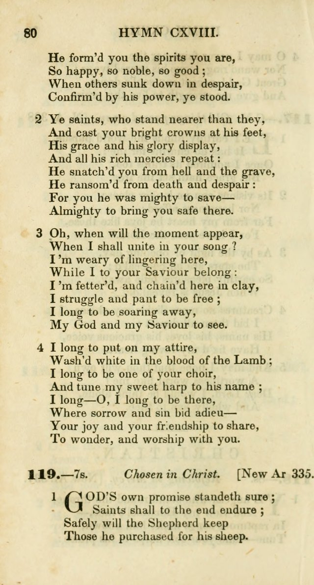 Additional Hymns, Adopted by the General Synod of the Reformed Protestant Dutch Church in North America, at their Session, June 1846, and authorized to be used in the churches under their care page 85