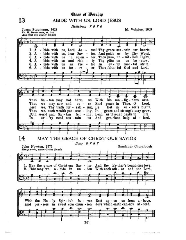 American Lutheran Hymnal page 218