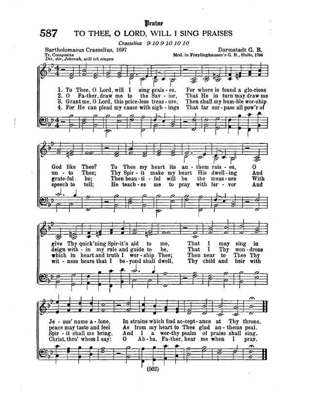 Language In 45 And 47 Stella Street: To Thee, O Lord, Will I Sing Praises