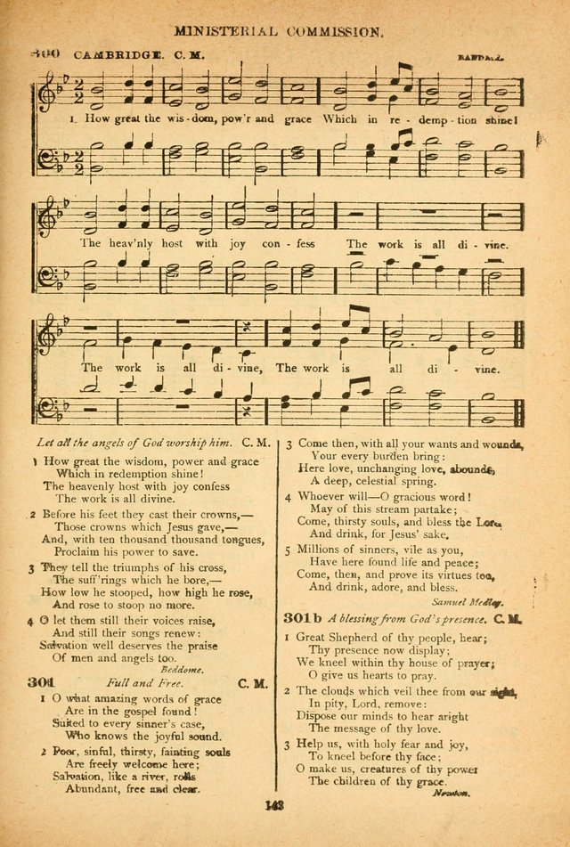The African Methodist Episcopal Hymn and Tune Book: adapted to the doctirnes and usages of the church (6th ed.) page 143