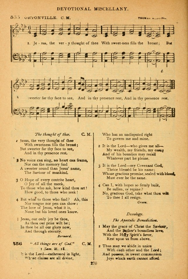 The African Methodist Episcopal Hymn and Tune Book: adapted to the doctrines and usages of the church (6th ed.) page 270